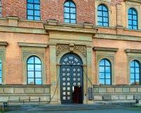 Munich Tyskland - Oktober 20, 2017: Byggnad av Alte Pinakothek Royaltyfri Bild