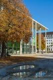 Munich Tyskland - Oktober 20, 2017: Byggnad av Pinakothek der Royaltyfri Bild