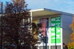 Munich Tyskland - Oktober 20, 2017: Byggnad av Pinakothek der Royaltyfria Foton