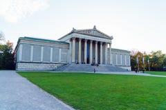 Munich Tyskland - Oktober 20, 2017: Statliga samlingar av Antiqu Arkivbilder