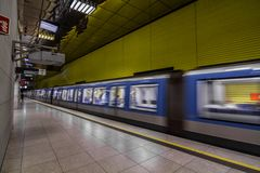 Munich U-Bahn photos stock