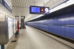 Munich U-Bahn Stock Photography