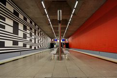 Munich Underground Stock Photos
