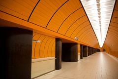 Munich underground Royalty Free Stock Images