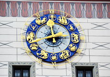 Munich Zodiac Clock Royalty Free Stock Images