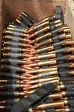 munición 7.62 Foto de archivo libre de regalías