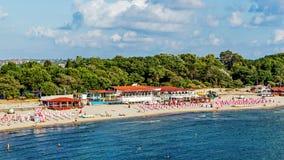 Municipal beach in Sozopol Stock Photography