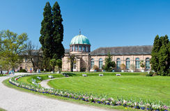 Municipal botanical garden located in Karlsruhe Royalty Free Stock Images