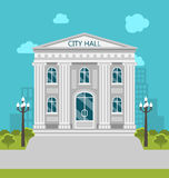Municipal Building, City Hall, the Government, the Court. Royalty Free Stock Images
