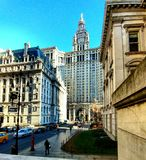 Municipal Building. Downtown Manhattan, architecture Stock Images