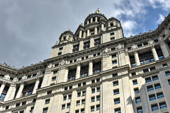 Municipal Building - New York City. Municipal Building in Manhattan, New York City, is a 40-story building built to accommodate increased governmental space Stock Photos