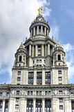 Municipal Building - New York City. Municipal Building in Manhattan, New York City, is a 40-story building built to accommodate increased governmental space Stock Photo