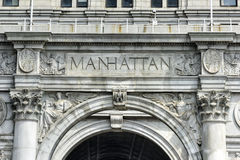 Municipal Building - New York City. Municipal Building in Manhattan, New York City, is a 40-story building built to accommodate increased governmental space Royalty Free Stock Photos