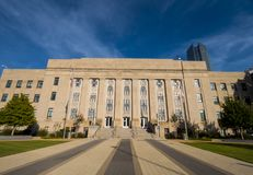 Municipal building in Oklahoma City Royalty Free Stock Images