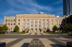 Municipal building in Oklahoma City Stock Photo