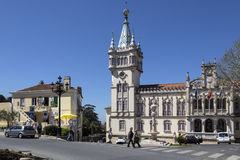 Municipal Building of Sintra - Sintra - Portugal Stock Photos