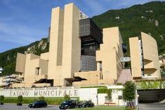 The municipal casino of Campione d'Italia Royalty Free Stock Photos