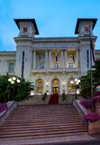 The Municipal Casino in Sanremo, Italy. Stock Photos