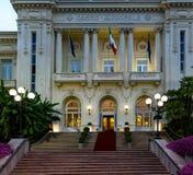 The Municipal Casino in Sanremo, Italy. Stock Photo