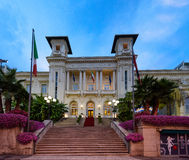 The Municipal Casino in Sanremo, Italy. Stock Photography