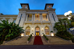 The Municipal Casino in Sanremo, Italy. royalty free stock photo