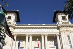 Municipal Casino of Sanremo Stock Photos