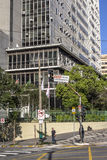 Municipal chamber. Sao Paulo, Brazil, September 23, 2016. View of building municipal chamber of aldermen of the Sao Paulo city Stock Images