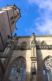 Municipal church - I - Schorndorf - Germany. Schorndorf is a town in Baden-Würtemberg, Germany, located approx. 26 km east of Stuttgart. This photo shows the Royalty Free Stock Photos