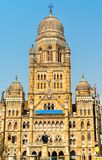 Municipal Corporation Building. Built in 1893, it is a heritage building in Mumbai, India Stock Photography