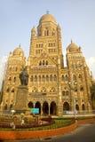 Municipal Corporation building, Mumbai, India. Municipal Corporation building, Mumbai, in Gothic revival style, build in 1893 stock photo