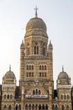 Municipal Corporation Building at Mumbai, India Royalty Free Stock Photos