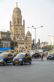 Municipal Corporation Building at Mumbai, India Royalty Free Stock Images