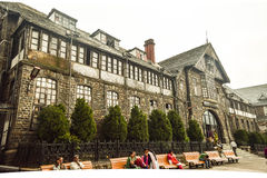 MUNICIPAL CORPORATION BUILDING , SHIMLA Royalty Free Stock Photo