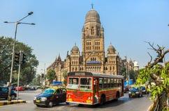 Municipal Corporation construisant BMC dans Mumbai, Inde photos stock