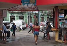 Municipal de Mercado dans Puerto Limon, Costa Rica photos libres de droits
