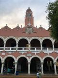 Municipal de palais Images libres de droits
