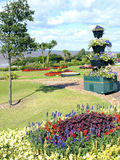 Municipal gardens at Hunstanton, Norfolk. Royalty Free Stock Photos