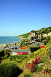 Municipal gardens, Ventnor, Isle of Wight. Royalty Free Stock Images