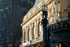 The Municipal house royalty free stock photography