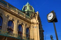 Municipal House, Old Buildings, Prague, Czech Republic Royalty Free Stock Photography