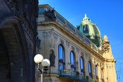Municipal House, Old Buildings, Prague, Czech Republic Stock Photo