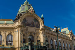 Municipal House In Old Prague Royalty Free Stock Photo