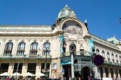 Municipal House in Prague Stock Photo