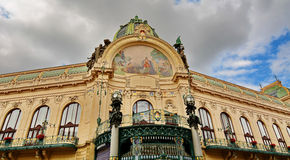 Municipal house in Prague Stock Photography