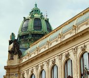 Municipal House - in Prague Royalty Free Stock Image