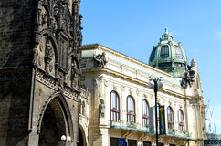 Municipal House in Prague Royalty Free Stock Photo