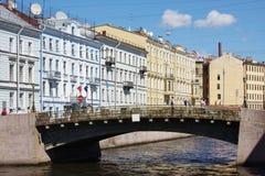 Municipal landscape, city Saint Petersburg. Beautiful municipal landscape, city Saint Petersburg, Russia Stock Photography