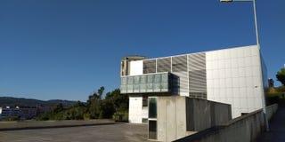 Municipal Library of Loures. Biblioteca Municipal José Saramago, Loures, Portugal royalty free stock images