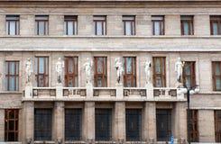 Municipal Library of Prague Stock Photography