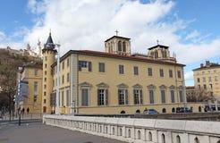 Municipal Lyon Library at Saint Jean. Lyon, France Royalty Free Stock Images